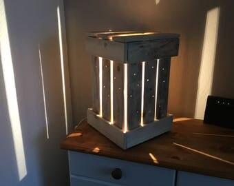 Large Driftwood table lamp / floor lamp