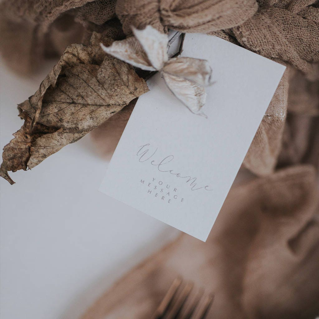 elegant gift tags with simple sophistication e10261624441974261m