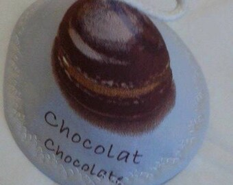 Hat gray Brown macaroon pot
