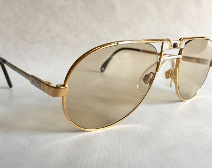 Cazal 750 Col 96 Vintage Sunglasses German Titanium Golf New Old Stock