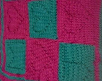 lovers blanket - custom wedding or engagement present