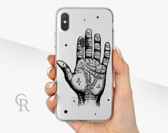 Palmistry Clear Phone Case Phone Case For iPhone 8 iPhone 8 Plus iPhone X Phone 7 Plus iPhone 6 iPhone 6S  iPhone SE Samsung S8 iPhone 5