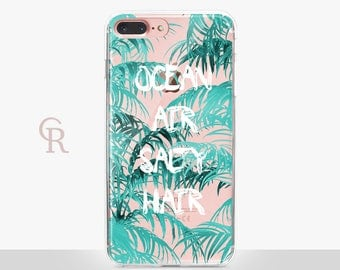 Ocean Clear Phone Case For iPhone 8 iPhone 8 Plus iPhone X Phone 7 Plus iPhone 6 iPhone 6S  iPhone SE Samsung S8 iPhone 5 Transparent