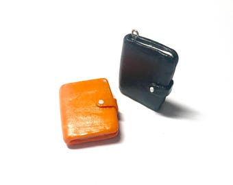 Clay Journal Charm | Clay Book Charm | Keychain Charms | Reader Charms | Writer Charms | Planner Charms