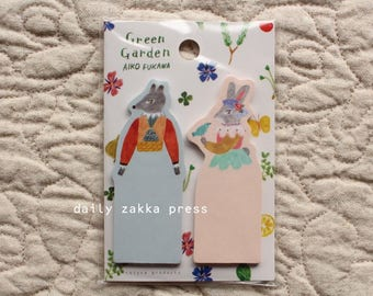 Animal Sticky Note - 2 designs - 20 pieces each - 6170
