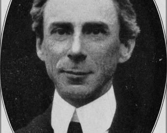 Poster, Many Sizes Available; Bertrand Russell On Denoting