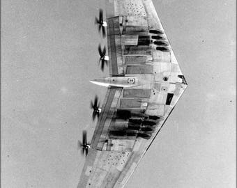 Poster, Many Sizes Available; Northrop Xb-35 Flying Wing, A Heavy Bomber Prototype P4