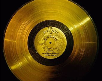40% OFF SALE Poster, Many Sizes Available; Voyager Golden Record Sounds Of Earth