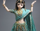 BJD Indian Royal outfits for Minifees commission - rest of the payment