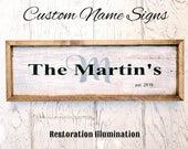 Family Name Signs | custo...