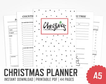 Christmas planner | Etsy