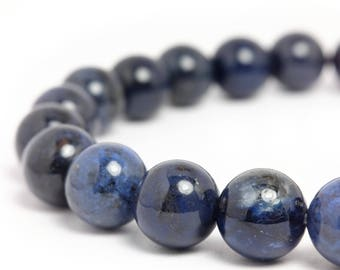 8mm Dumortierite Stretch Bracelet