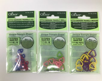 Stitch Marker Set - Triangle Stitch Markers by Clover