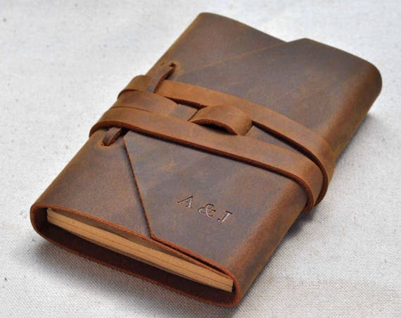 Refillable Leather Journal Leather Notebook Custom Journal