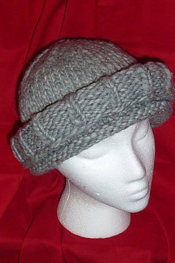 Easy Quick Knitting Pattern Beginner Hat Beanie Bulky Chunky Yarn