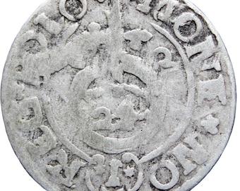1622 Półtorak 3 Polker Sigismund III Polish–Lithuanian Commonwealth Silver Coin
