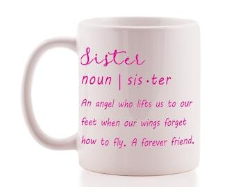 Cute 'Sister' Definition Mug