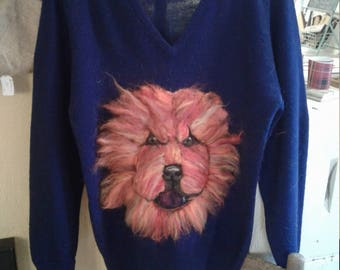 Chow chow sweater