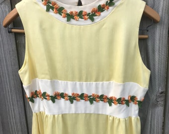 1970s Vintage Mike Benet Dress size Small