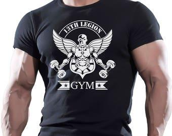 13 Legion Gym Bodybuilding T Shirt Best Workout Clothing Training Man UFC MMA …