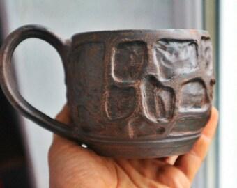 Ceramic cup, ceramic mug, Clay mug, pottery tea cup, tea mug, pottery mug, pottery cup