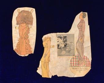 1920's Fashion Princess Tania Paper Doll