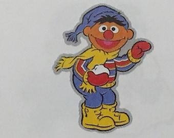 Ernie die cut from Sesame Street