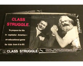 Vintage Original 1978 Class Struggle Board Game By Bartman Ollman Never Been Played