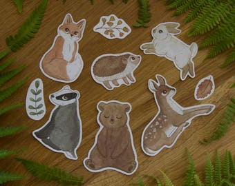 Woodland Animal - Sticker Set