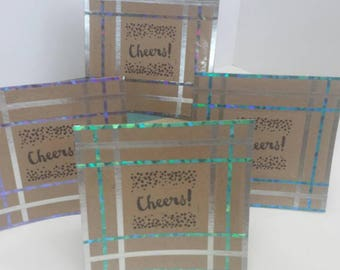 Cheers! Blank any occasion greeting cards