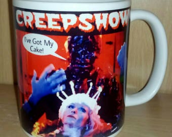 Retro Nostalgic Creepshow Father's Day 'I've Got My Cake' Zombie Horror Ceramic Coffee Mug Cup