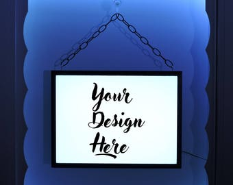 Custom Window Sign, Full Color Design, Custom Sign, Business Sign, Custom Logo Design, Light Up Sign, Custom Business Sign
