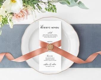 Wedding Menu, Wedding Dinner Menu, Reception Menu, Dinner Menu, Wedding Reception Menu, Sophia Suite Menu