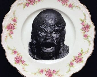The Creature From the Black Lagoon Vintage Decorative Plate