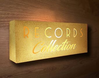 Lightbox COLLECTION Decoration Piece vinyl RECORDS