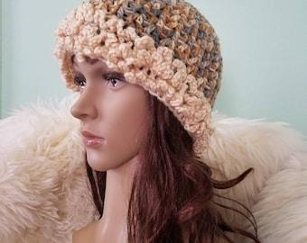 Crochet Hat Winter Hat Woman Winter Hat Crochet Beany Woman Accessory