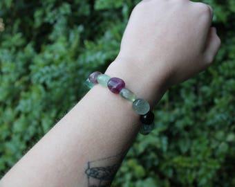 SALE 》crystal bracelet - fluorite.