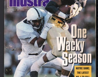 Vintage Magazine - Sports Illustrated : November 26, 1990 - Notre Dame