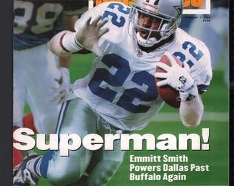 Vintage Magazine - Sports Illustrated : February 7 1994 - Emmitt Smith