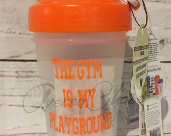 Personalized Custom Shaker bottles with Choice of Colored Lid