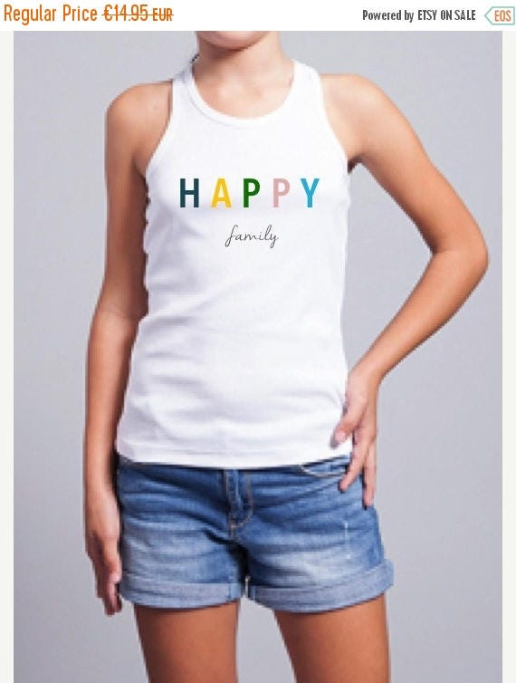 REBAJADO Girl t-shirt HAPPY FAMILY