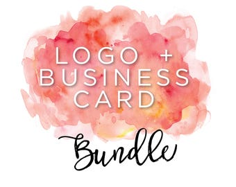 Premade Logo Design + Business card / Customized Logo / Branding / Consulting logo / Blog logo / Event planner logo / Photography logo