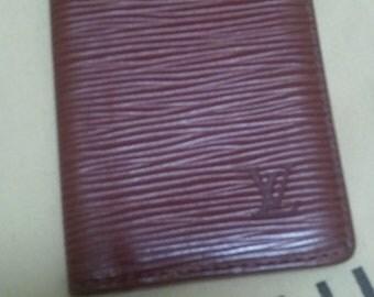 Louis Vuitton harvest brown Epi leather credit card case