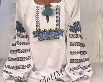 Embroidered Blouse, Ukrainian Vyshyvanka, Ukrainian Blouse