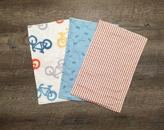 Bicycle Burp Cloths