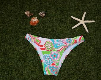 SALE - Bikini on Sale - Brazilian bikini bottom - Brazilian cut hipster bottom  , Brazilian Swimwear , swimwear , bikini , bikini bottom