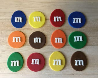M&M cupcakes, MM fondant, chocolate cupcakes, mm party, mm cupcakes, mm cupcake toppers