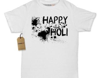 Happy Holi Indian Hindu Spring Festival Womens T-shirt