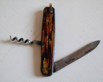 "France Pradel vintage 40s ""Glitter""  pocket knife/penknife/folding knife"