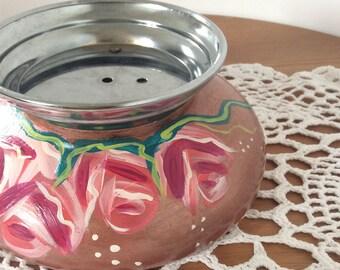 Empty Pocket floral Cup to jewelry-jewelry storage